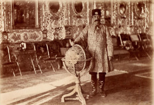Nasser_Ad-Din_Shah_Qajar_in_the_Hall_of_Mirrors,_the_Golestan_Palace